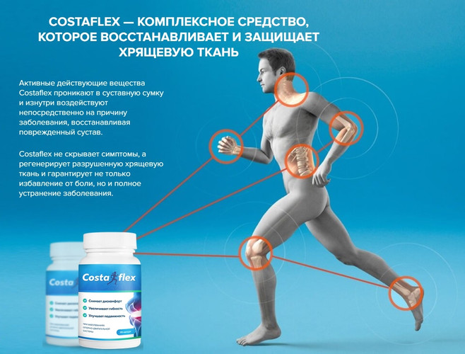 применение костафлекс для лечения суставов